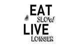 Eat Slow Live Longer logo