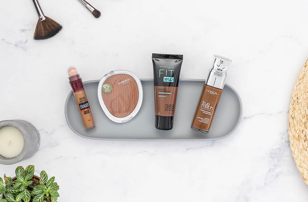 foundation en concealer donkere huid