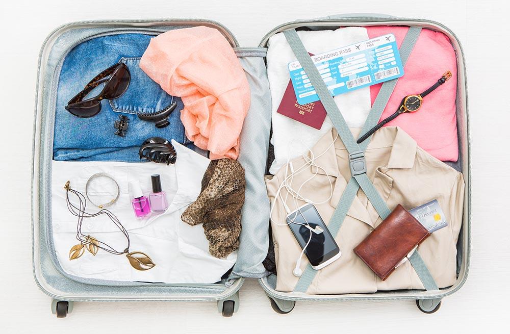 koffer inpakken vakantie checklist