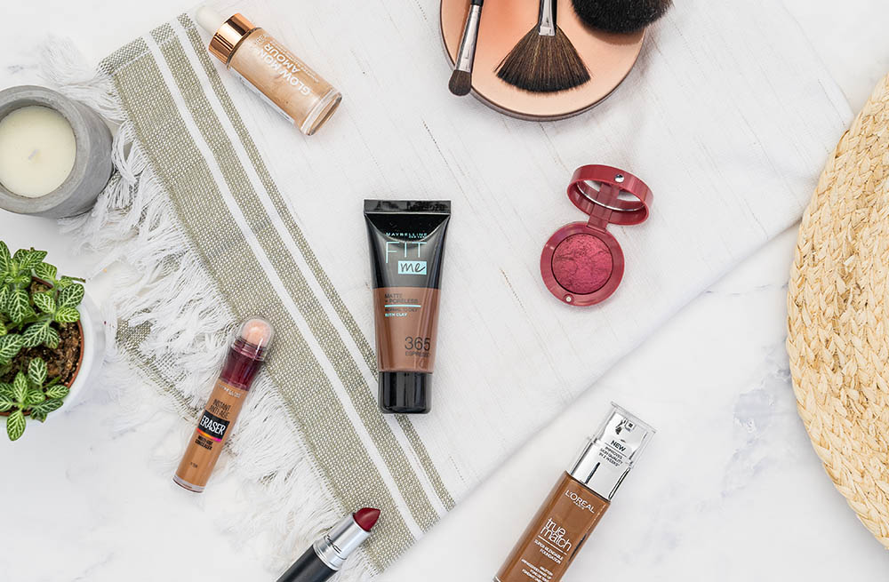 make-up donkere huid