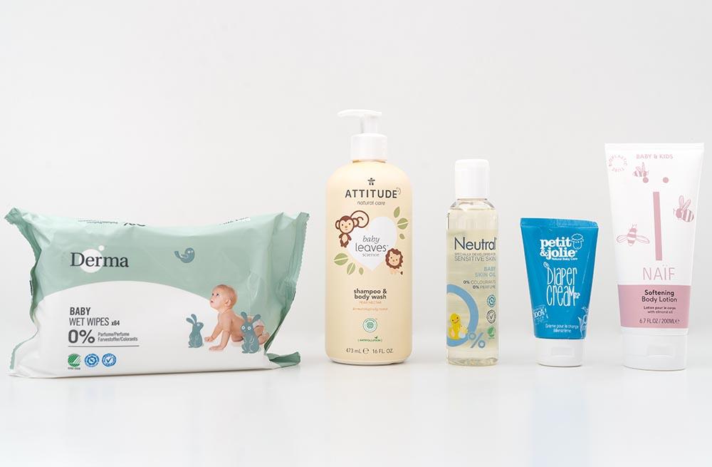 natuurlijke babyverzorgingsproducten