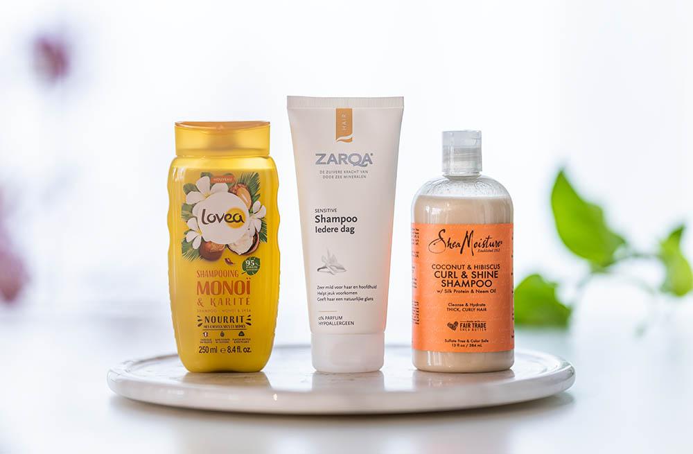 shampoo zonder parabenen en sulfaten