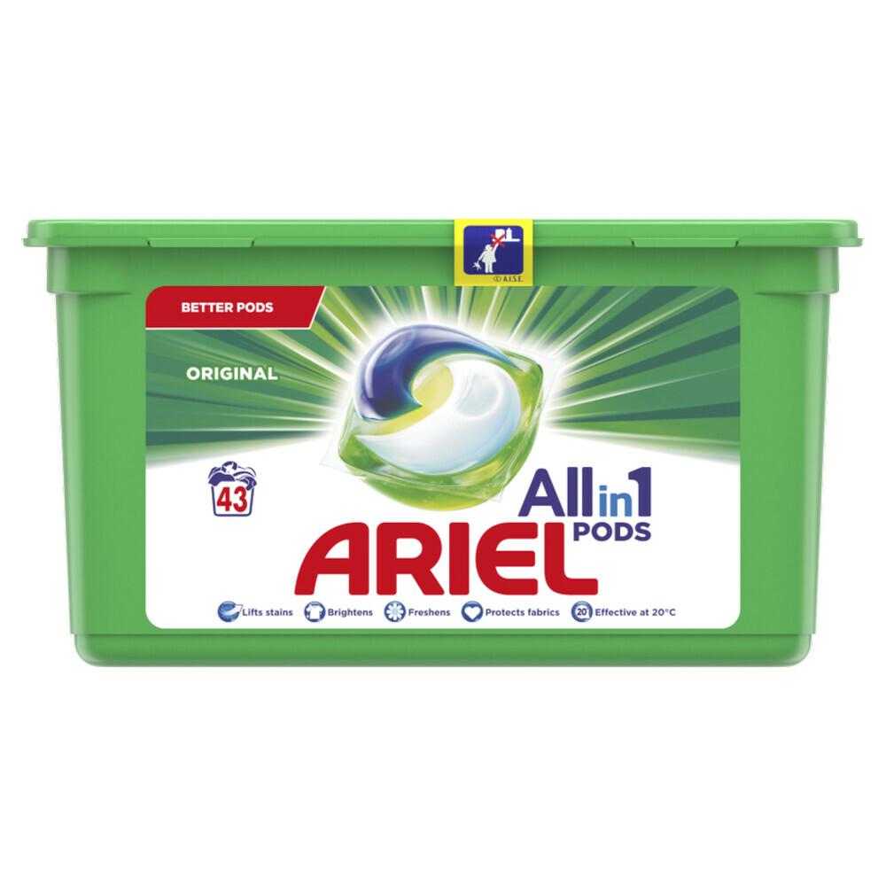3x Ariel Wasmiddel Allin1 Pods Regular 43 Stuks