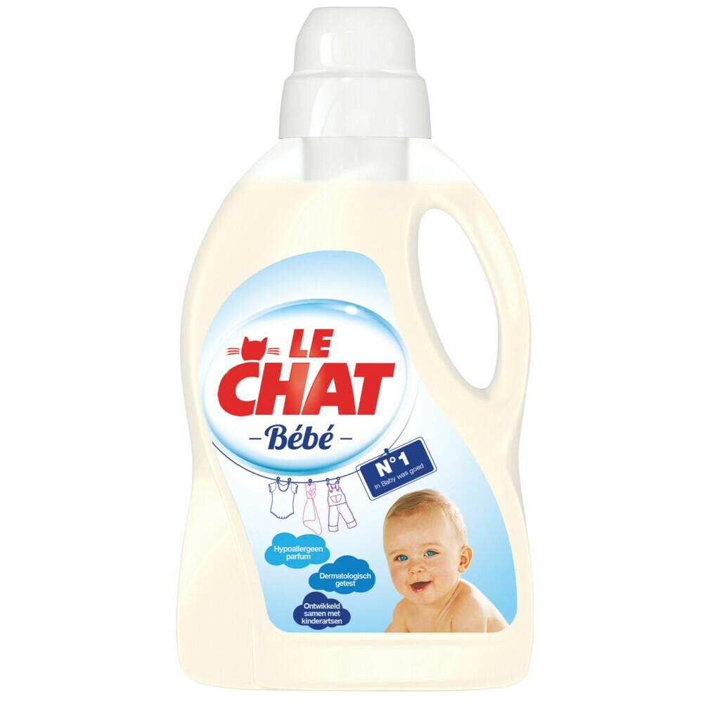 8x Le Chat Wasmiddel Baby 30 wasbeurten
