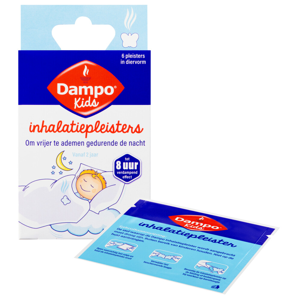 Dampo Inhalatiepleisters 6 sachets