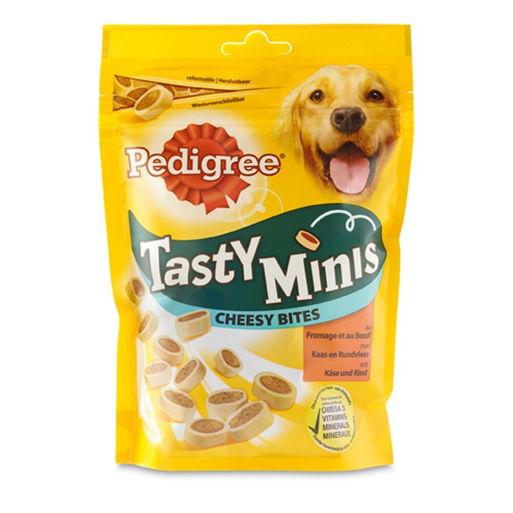 Pedigree Cheesy tasty bites mini 140 gram
