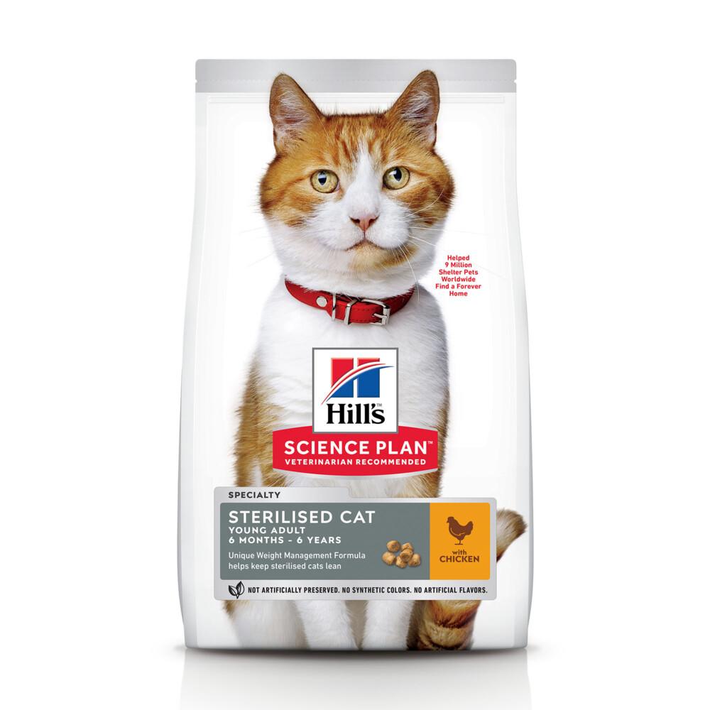 Hill's Science Plan Feline Young Adult Sterilised Cat 1,5 kg