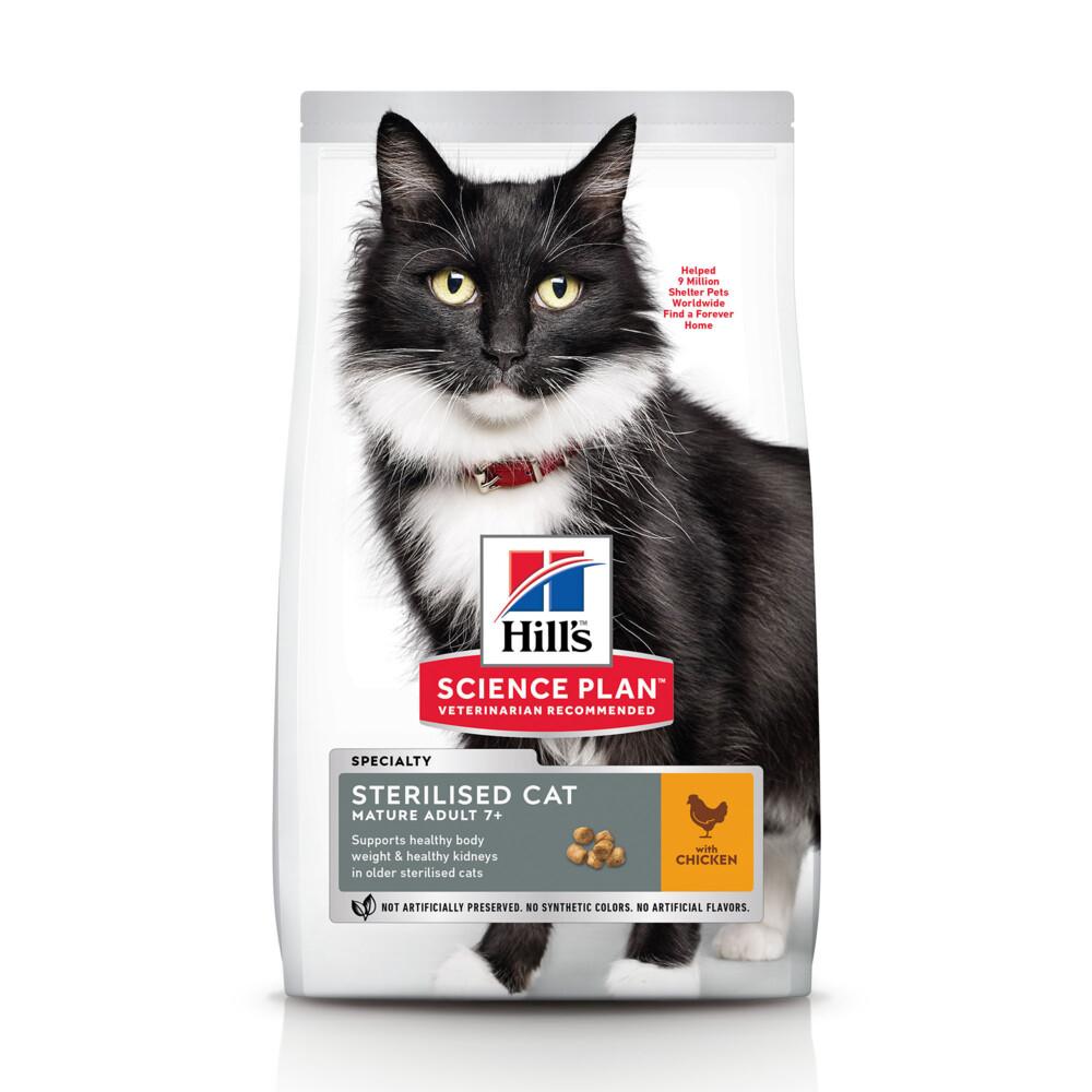 Hill's Science Plan Feline Mature Adult Sterilised Cat 1,5 kg