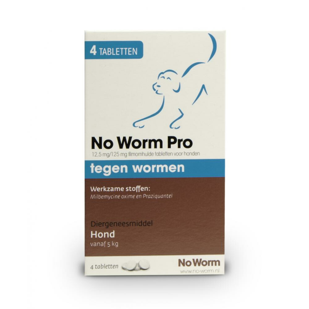 NO WORM PRO HOND LARGE