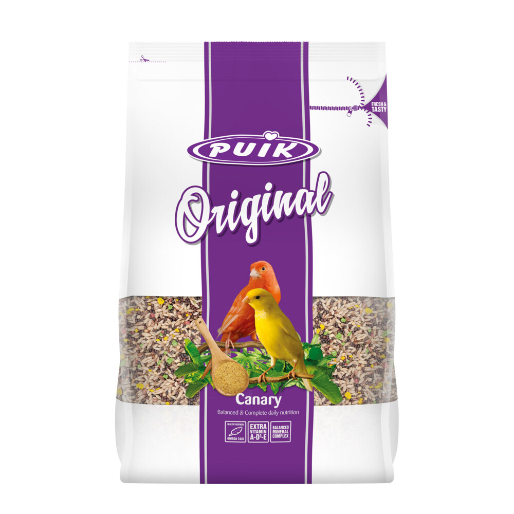 Puik original kanarie 900 grpuik original kanarie is een uitgebalanceerde dagelijkse voeding voor alle ...
