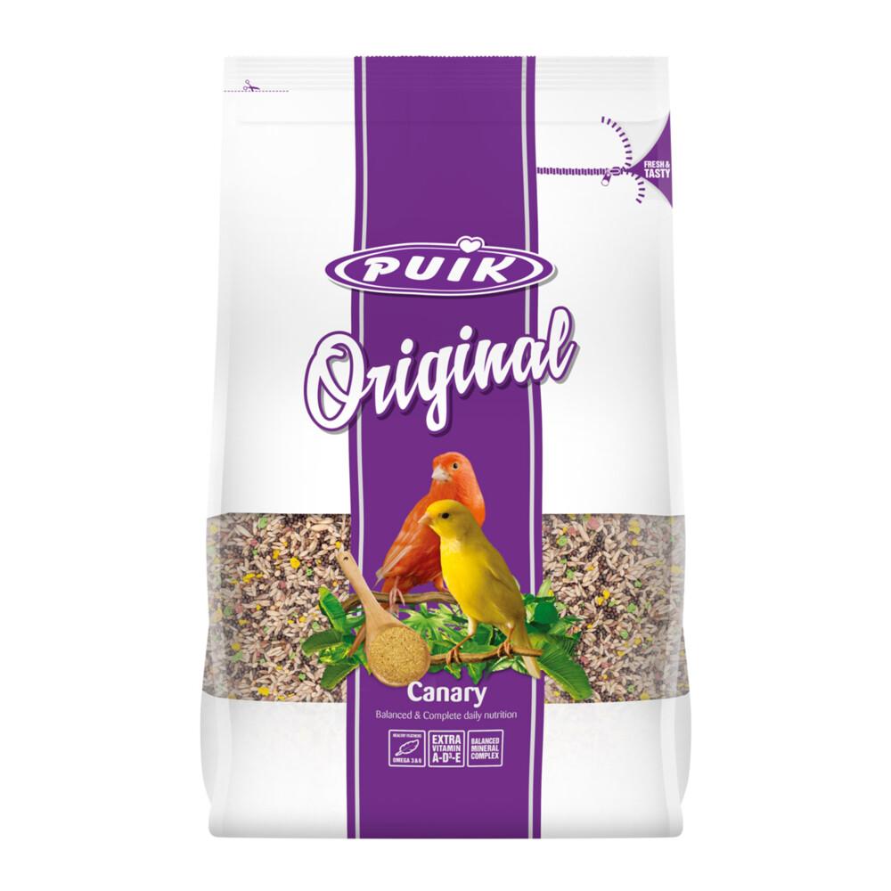 Puik original kanarie 4 kgpuik original kanarie is een uitgebalanceerde dagelijkse voeding voor alle soorten ...