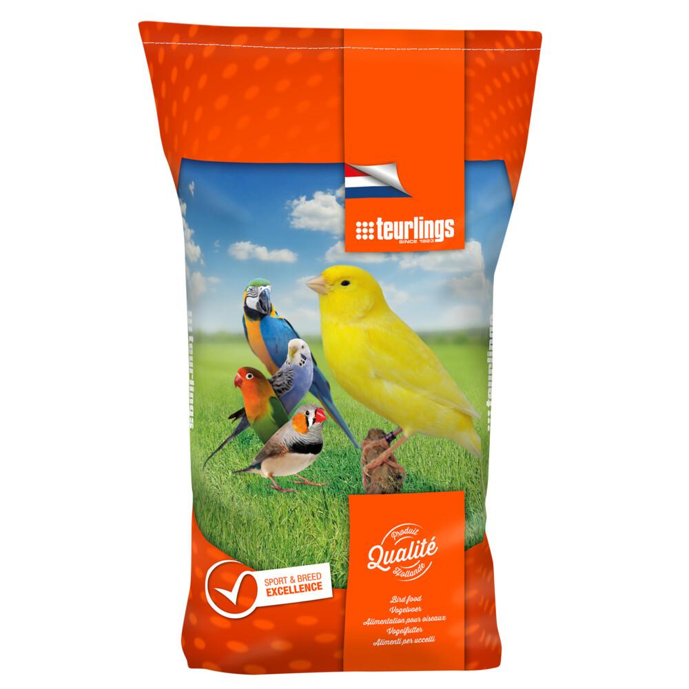 Teurlings kanarie zonder raapzaad 216 25 kgteurlings kwaliteitsvoeders no. 216 (25 kg) voor vogels bevatten ...