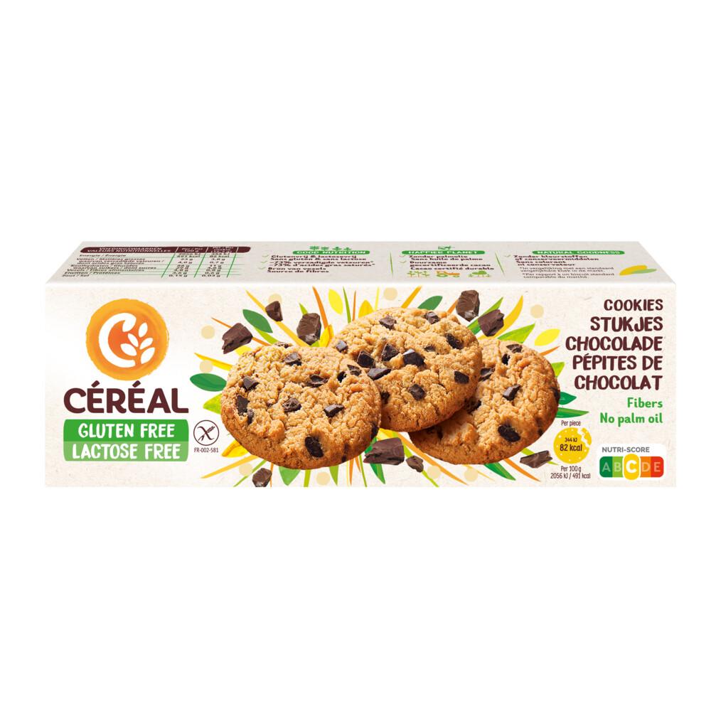 Cereal Glutenvrij en Lactosevrij Cookies 150gr