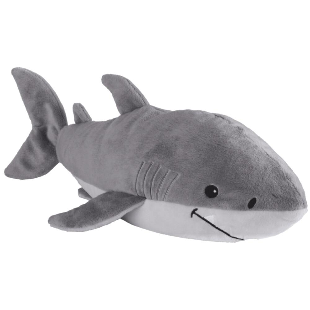 Warmies warmteknuffel haai 35 cm grijs