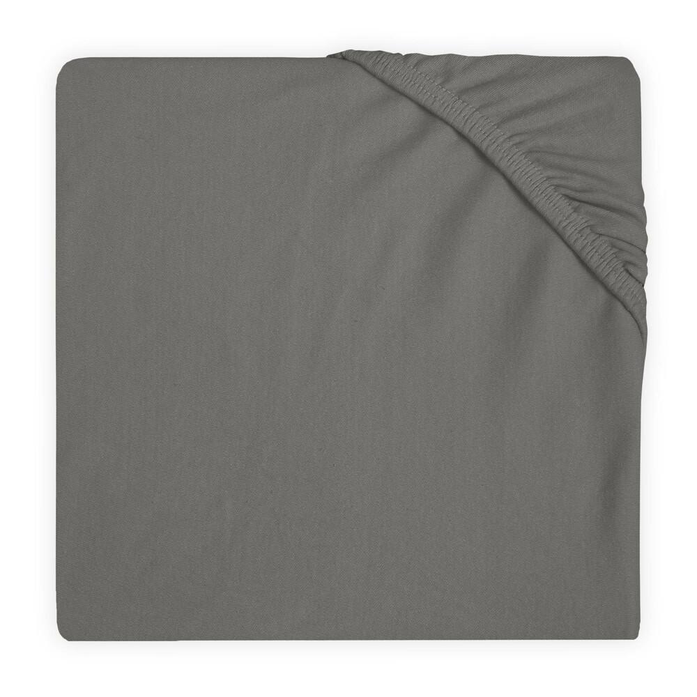 Jollein Hoeslaken Jersey 40x80-90cm Storm Grey