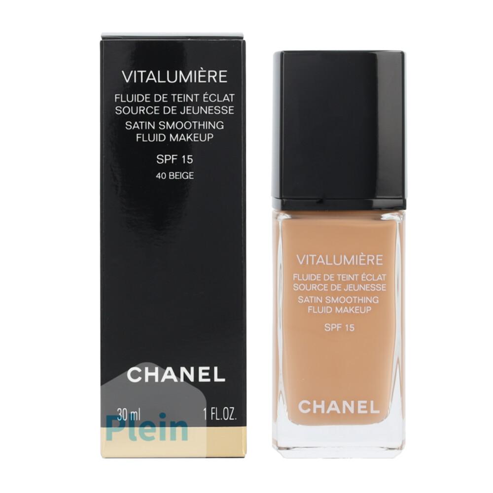 Chanel Vitalumière Fluide foundation 40 Beige
