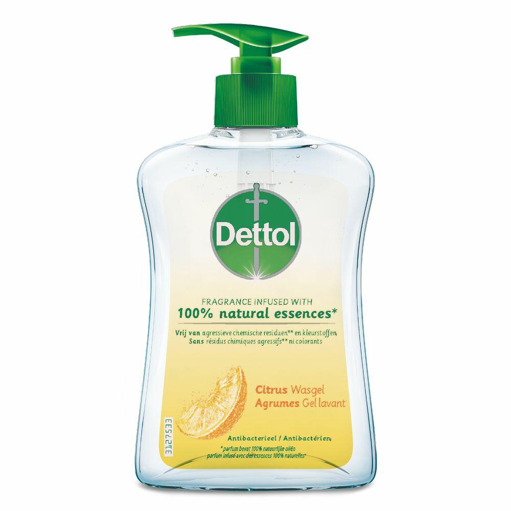 Dettol Handzeep Antibacterieel Citrus 250 ml