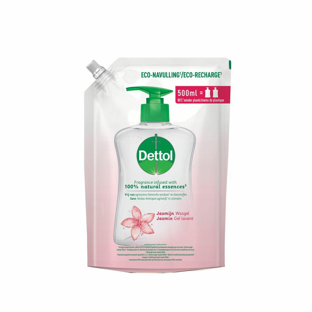Dettol Handzeep Antibacterieel Navulling Jasmijn 500 ml
