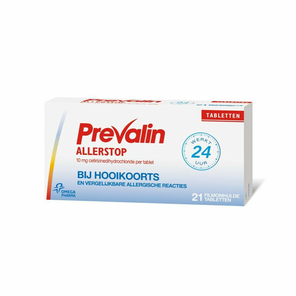 Prevalin Allerstop Cetirizine 21 tabletten
