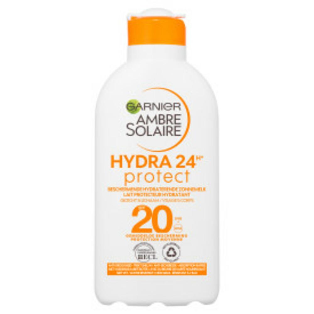 Garnier Ambre Solaire Zonnebrand Melk Factor(spf)20 200ml