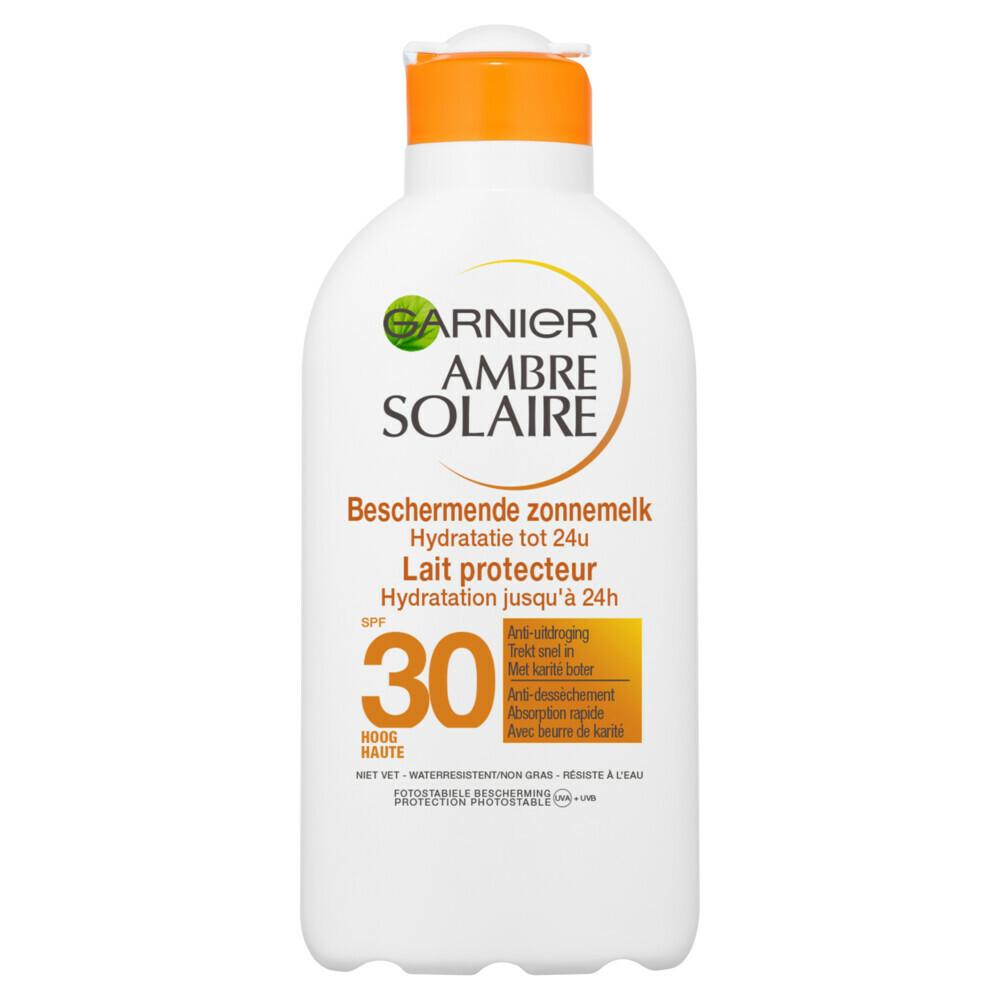 Garnier Ambre Solaire Zonnebrand Melk Factor(spf)30 200ml