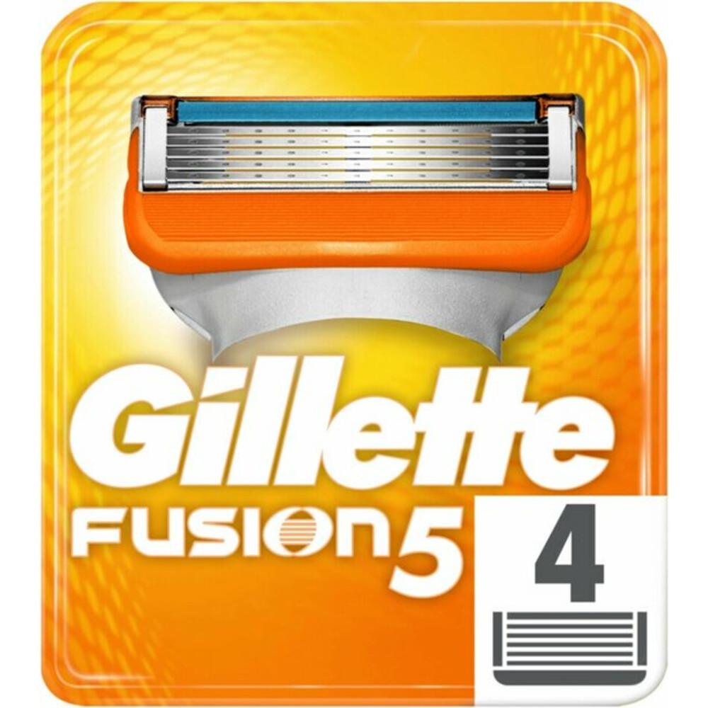 Gillette Fusion Scheermesjes 4stuks