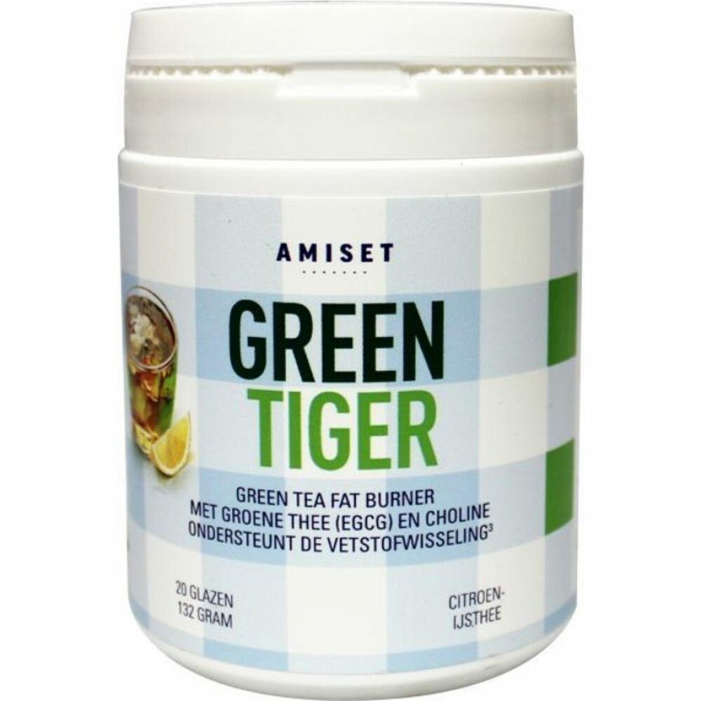 Amiset Green Tiger Green Tea Fat Burner 132gr