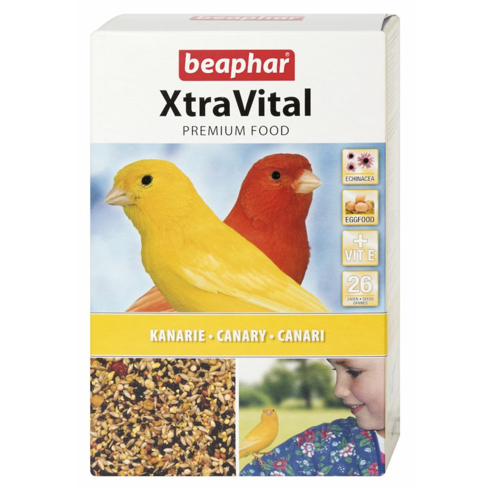 Beaphar xtravital kanarie 250 grxtravital kanarievoer is een zeer smaakvol en uitgebalanceerd premium ...