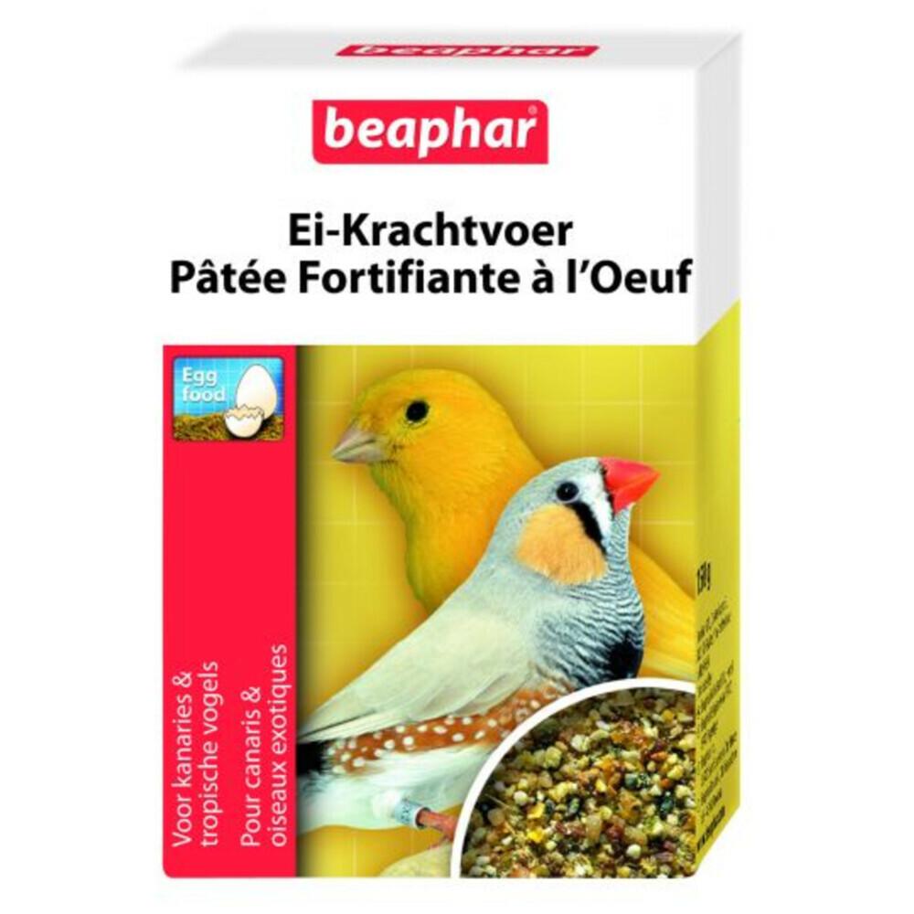 Beaphar ei krachtvoer kanarie 150 grei krachtvoer voor parkieten van beaphar dient als extra voeding naast ...