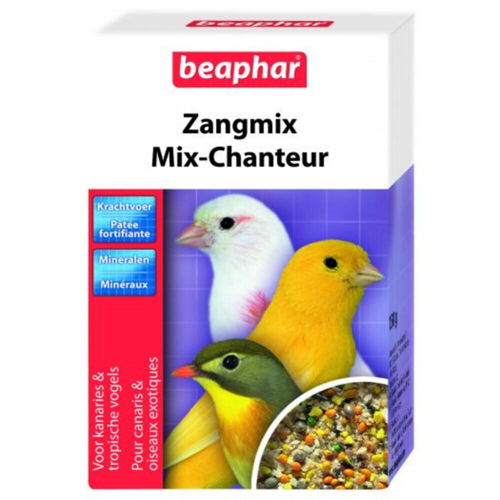 Beaphar zangmix kanariebeaphar zangmix kanarie is de noodzakelijke aanvulling op het dagelijkse zaadmenu. een ...