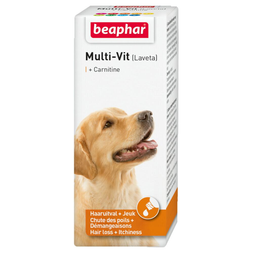 Beaphar Multi Vit Laveta Hond 50 ml