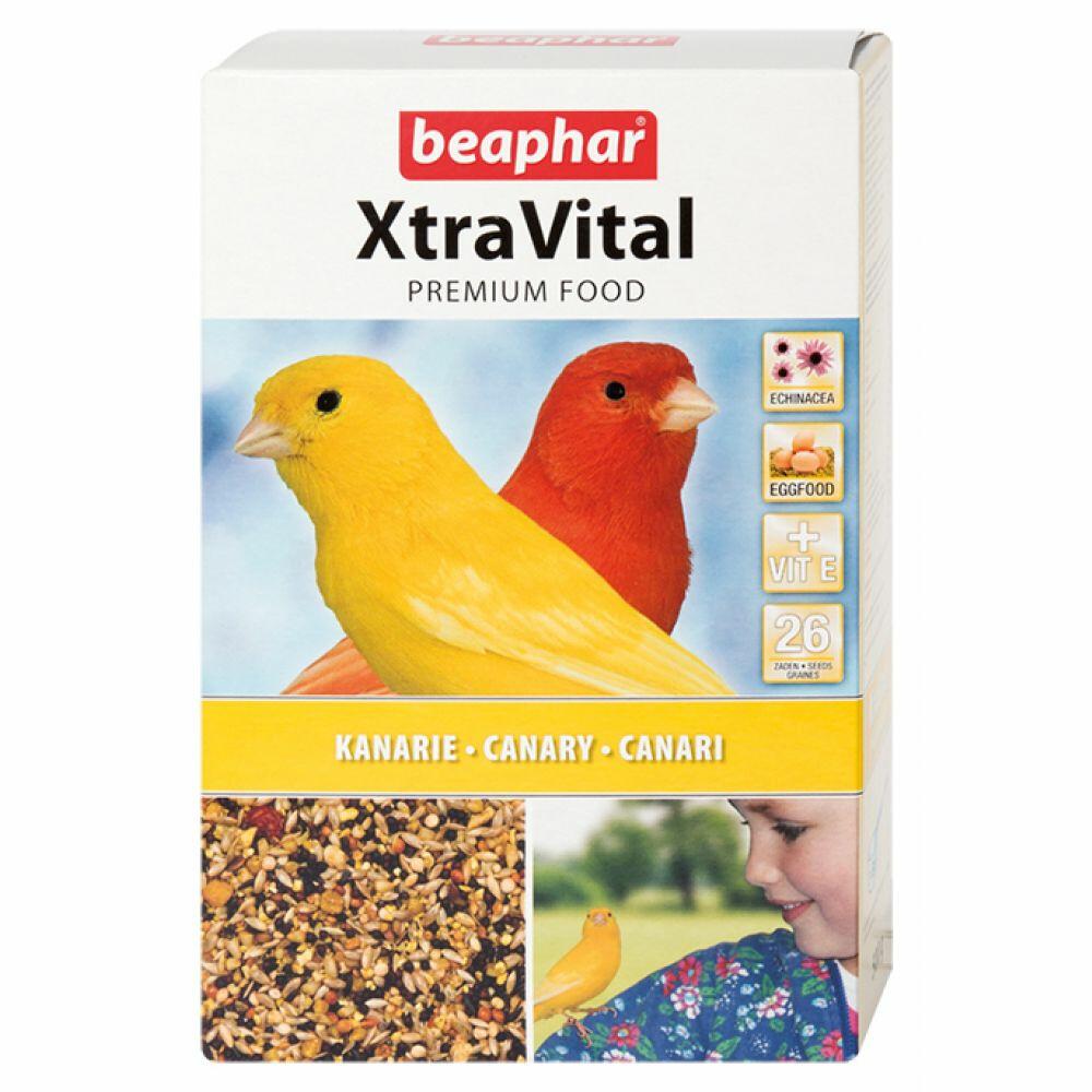 Beaphar xtravital kanariextravital kanarievoer is een zeer smaakvol en uitgebalanceerd premium vogelvoer, ...