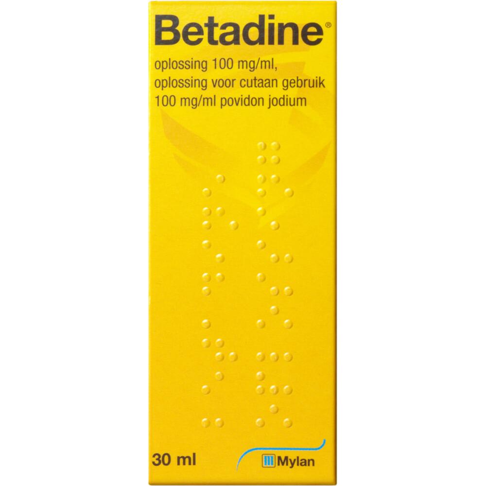 Betadine Oplossing Jodium Flacon 30ml
