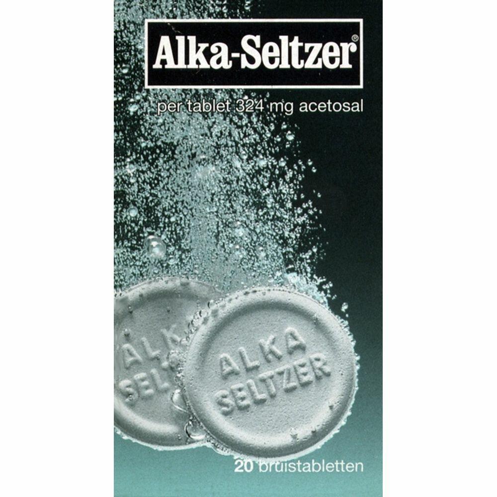 Alka Seltzer Bruistablet 324mg 20tabl