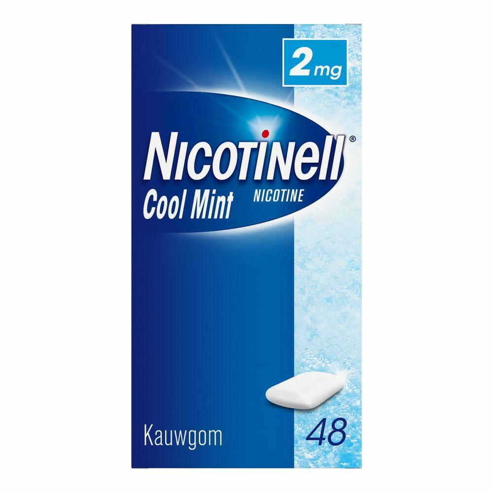 Nicotinell Kauwgom 2mg Mint 48stuks