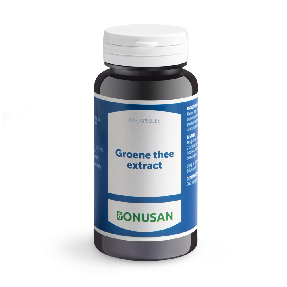Bonusan Groene Thee Extract 891 60caps