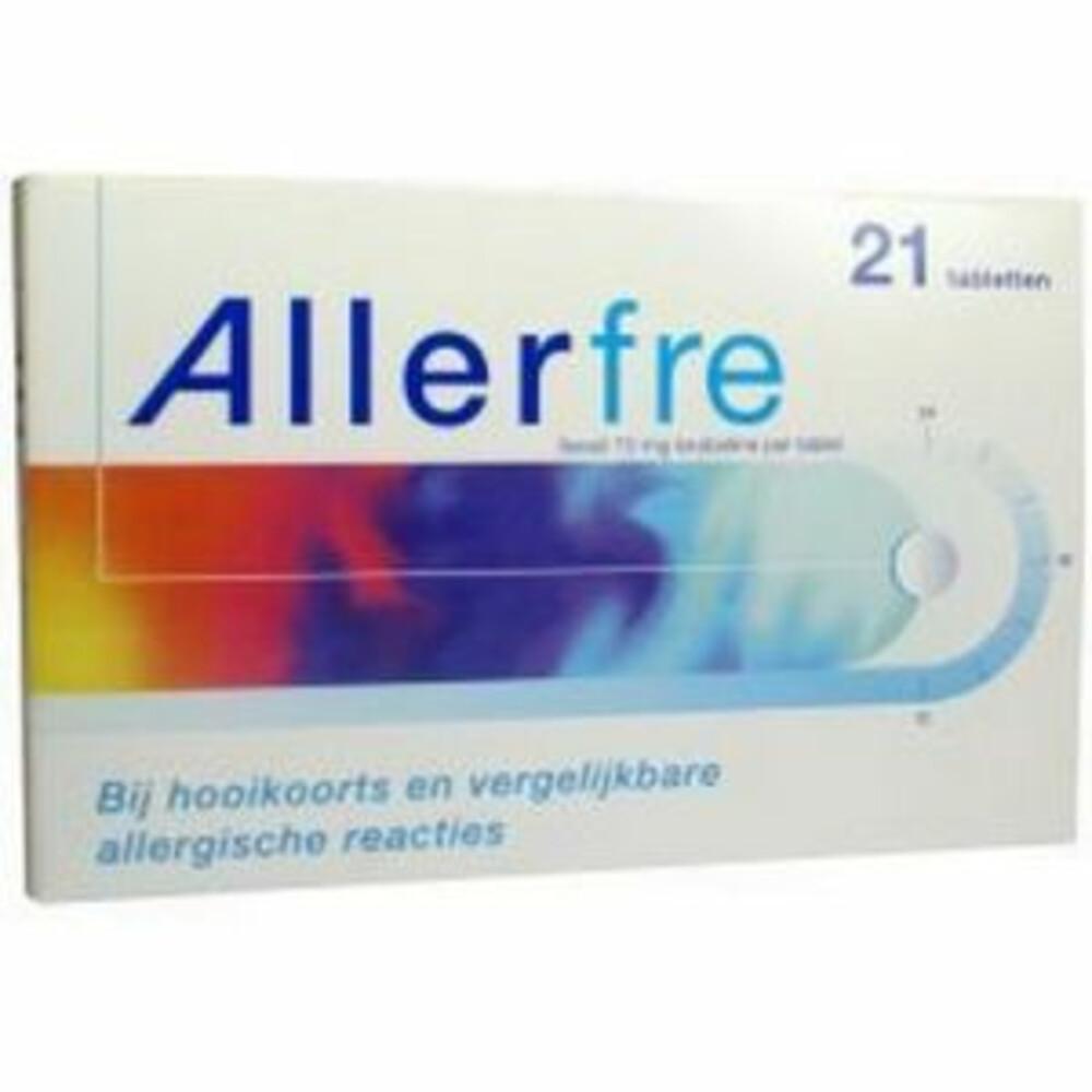 Allerfre Tabletten 10 mg 21 tabletten