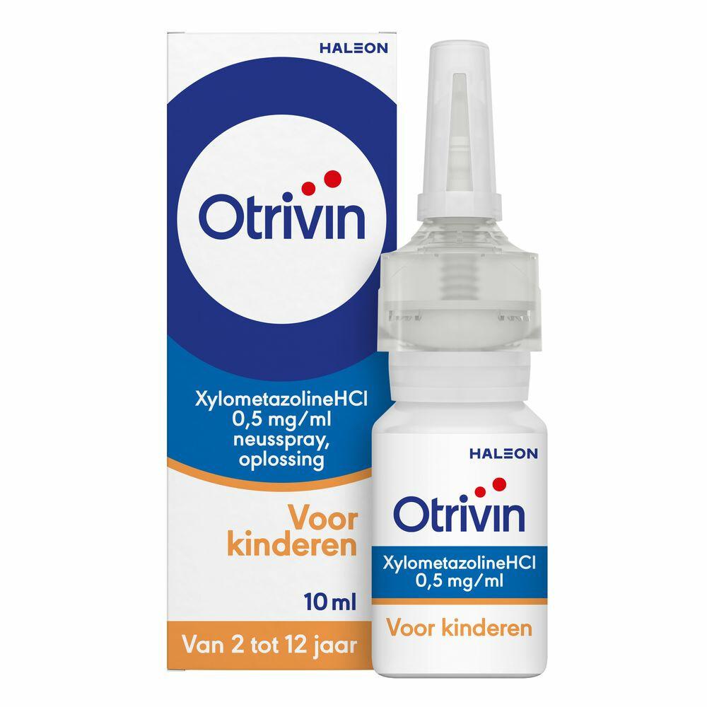 Otrivin Neusspray Kinderen 2-12 jaar 0.5 mg Xylo 10 ml