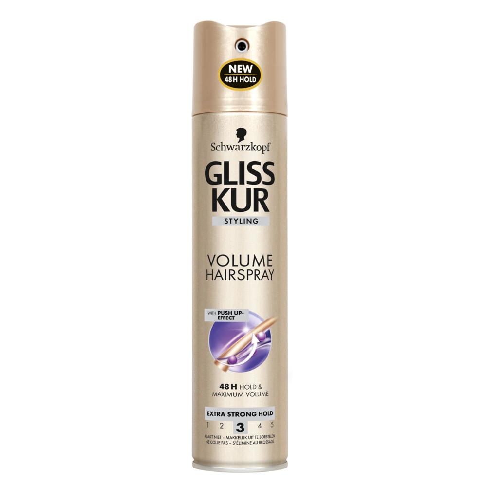 Gliss Kur Hairspray Hold Plus Extra Volume 250ml