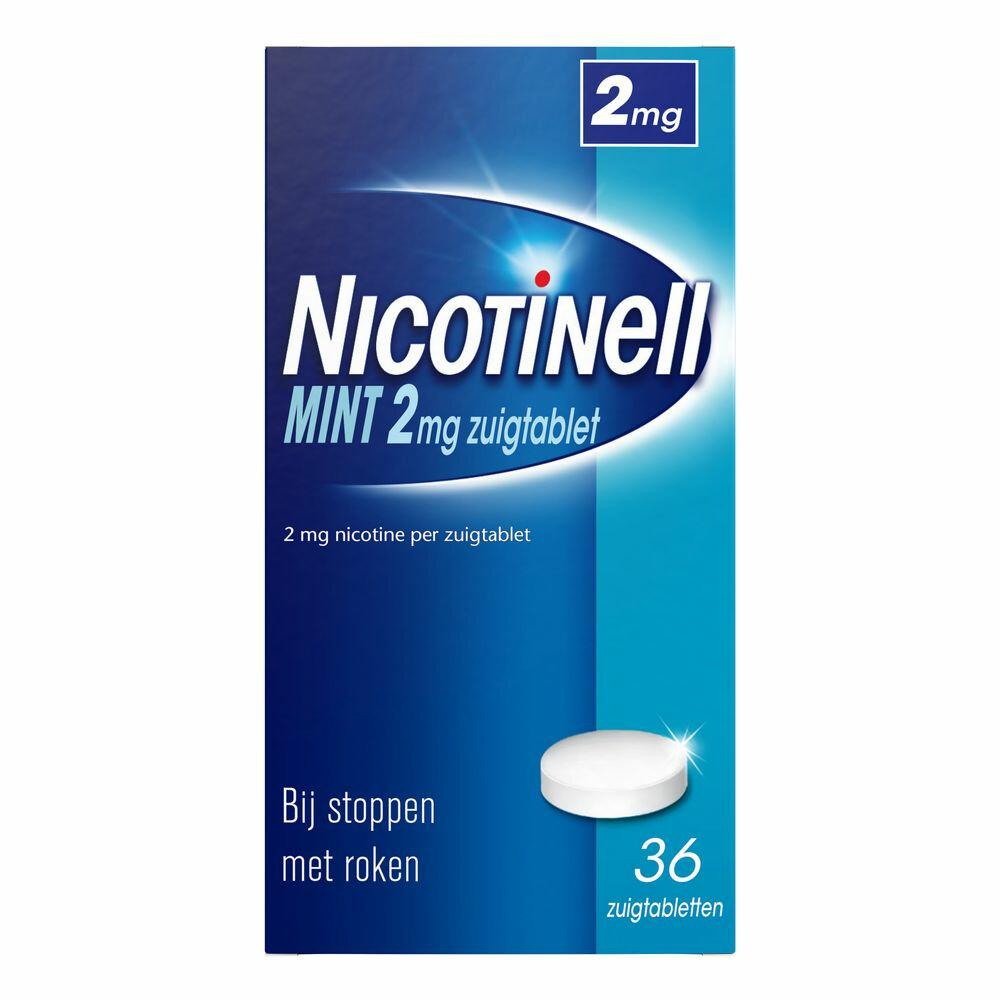 Nicotinell Zuigtablet 2mg 36stuks