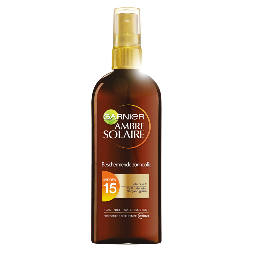 Garnier Ambre Solaire Zonnebrand Oil Factor(spf)15 150ml
