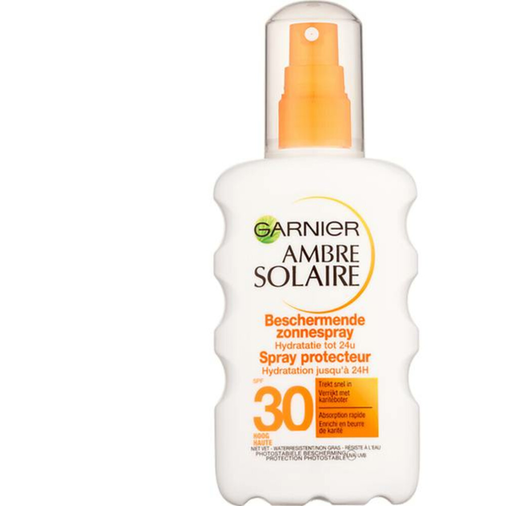 Garnier Ambre Solaire Zonnebrand Melk Spray Factor(spf)30 200ml