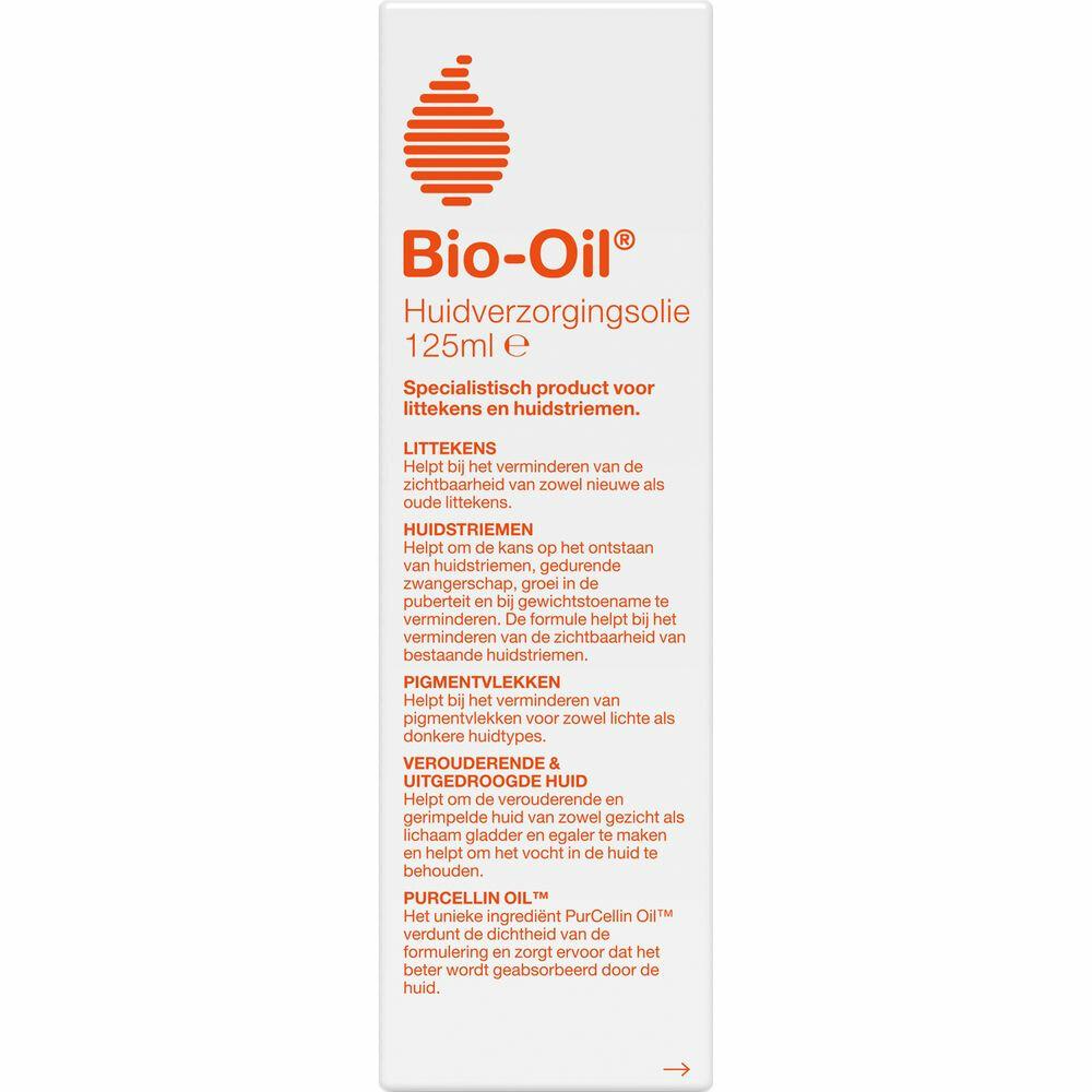 Bio Oil Verzacht Littekens, Huidstriemen En Pigmentvlekken 125ml