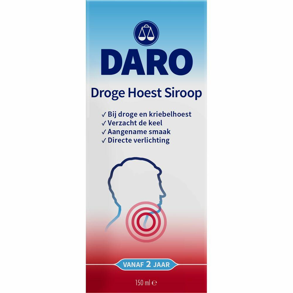 Daro Droge Hoest Siroop 150ml