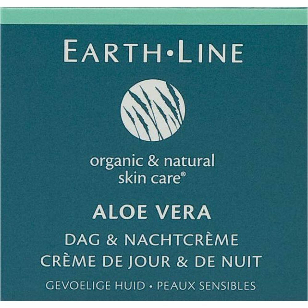 Earth Line Dag- and Nachtcreme Aloe Vera 50ml