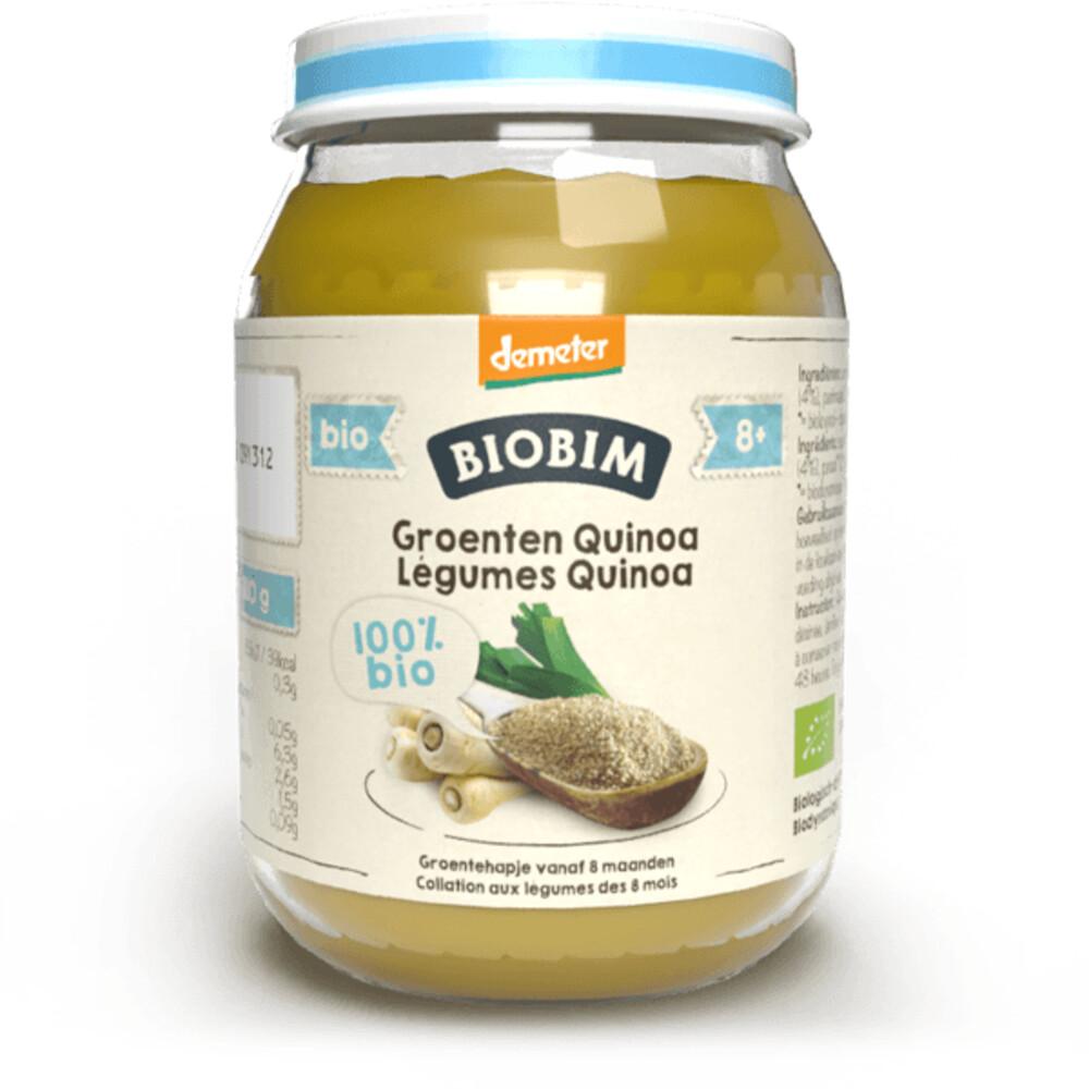 Biobim Groentehapje 8 mnd Groenten Quinoa 190 g
