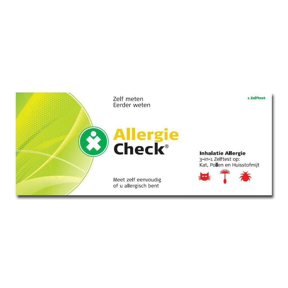 Testjezelf.nu AllergieCheck 3-in-1 Inhalatie
