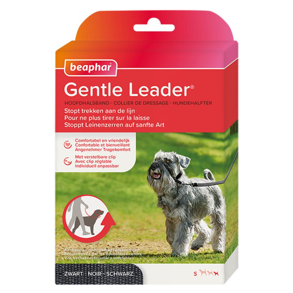 Beaphar Gentle Leader Kleine Honden en Puppy's Zwart