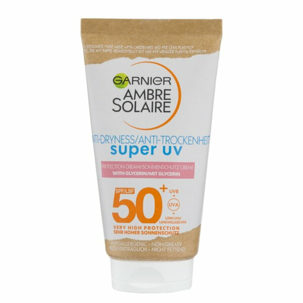 Garnier Ambre Solaire Uv Face Cream Factor(spf)50+ 50ml