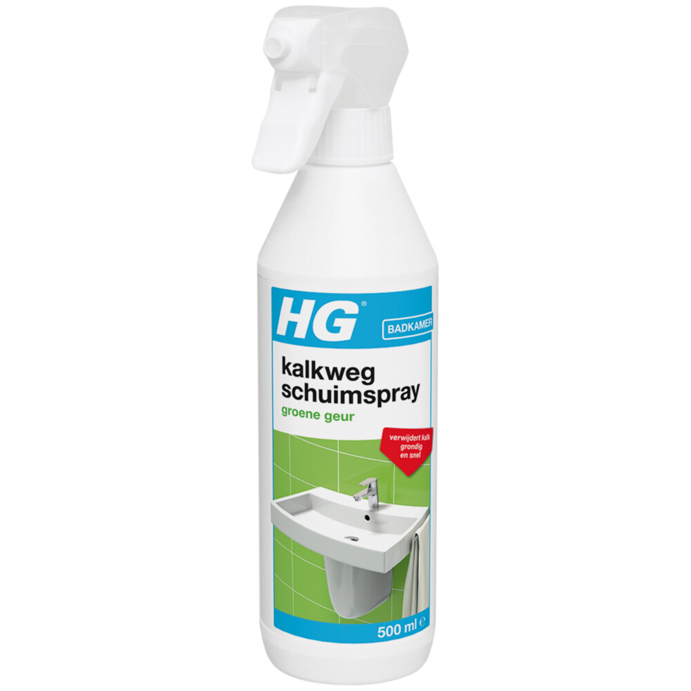 Hg Kalkweg Schuimspray Met Groene Geur 500ml